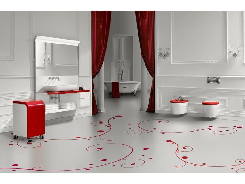 Muebles De Baño Water:Mueble bajo lavabo suspendido con cajones KHROMA