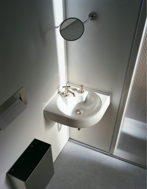 Corner Washbasins : Corner ceramic washbasin ARCHITEC Corner washbasin - DURAVIT