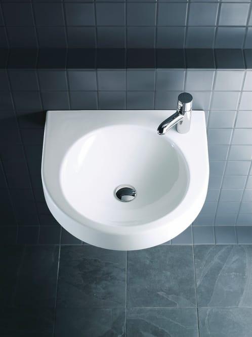 Architec washbasin by duravit design frank huster for Duravit architec washbasin
