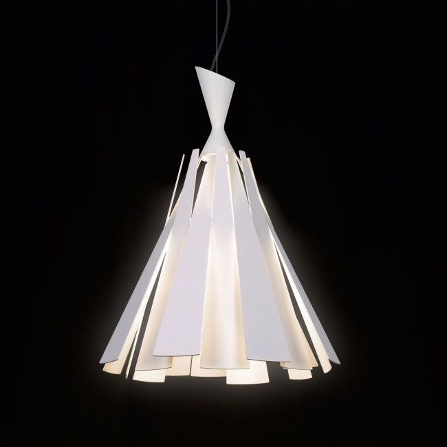 Aluminium Pendant Lamp Metronome L By Delta Light