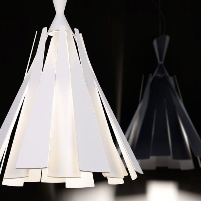Aluminium Pendant Lamp Metronome L By Delta Light