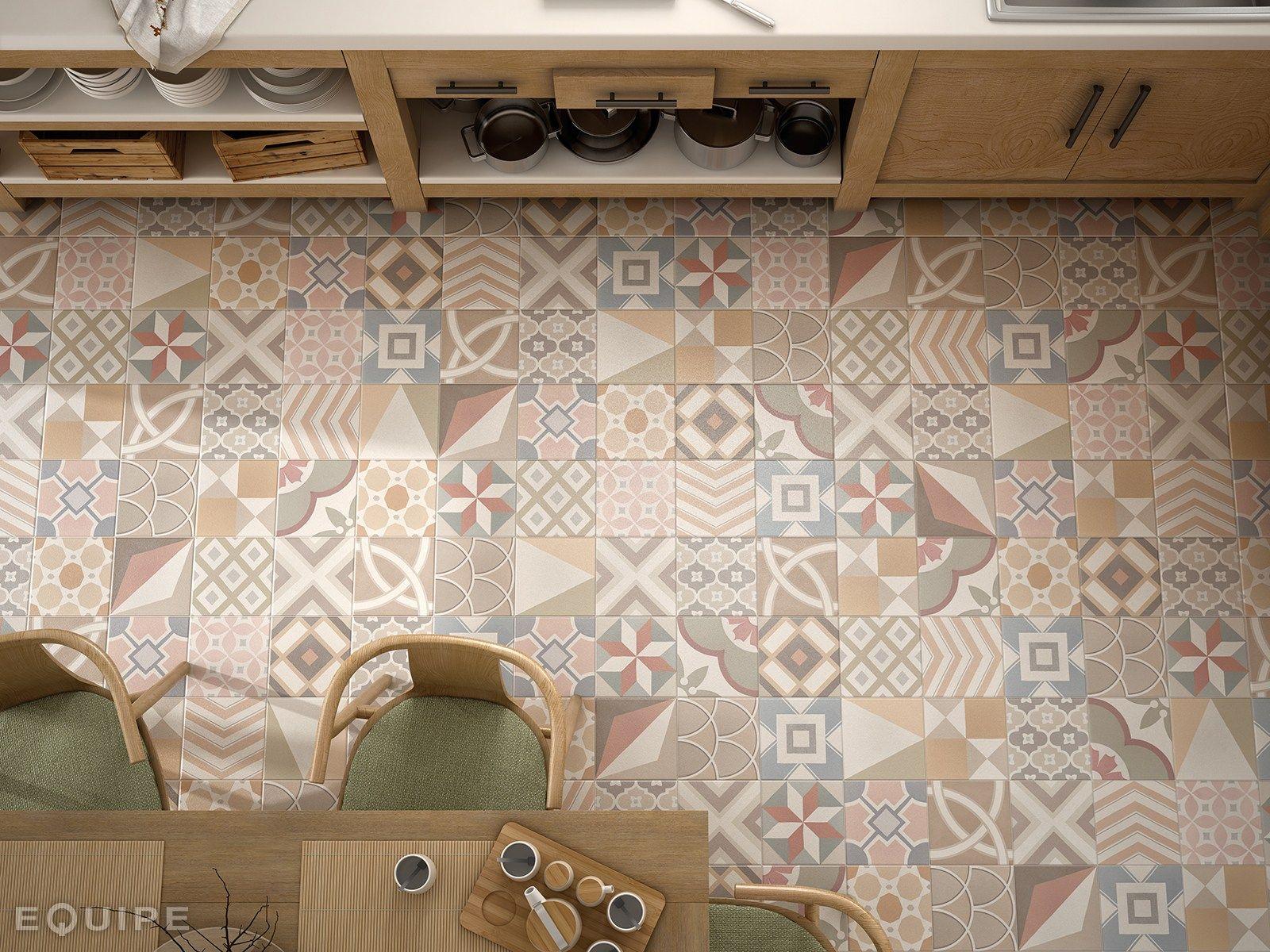 pavimento rivestimento in ceramica caprice deco by equipe. Black Bedroom Furniture Sets. Home Design Ideas
