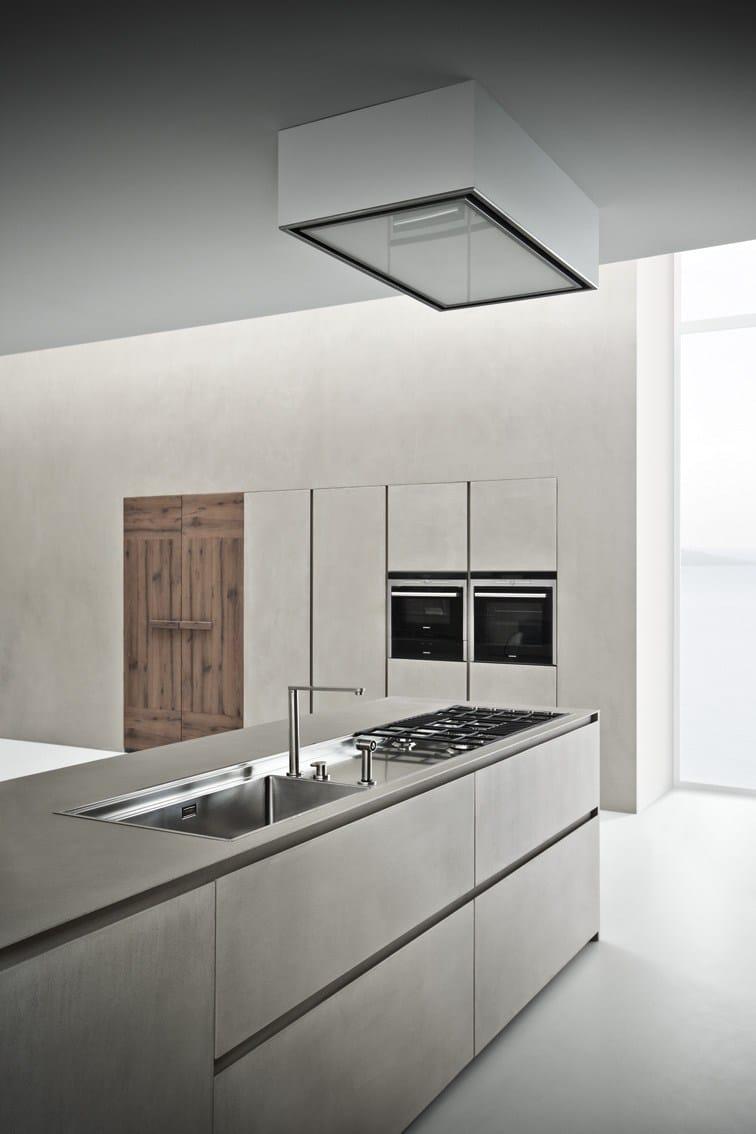 line k kitchen with island by zampieri cucine design