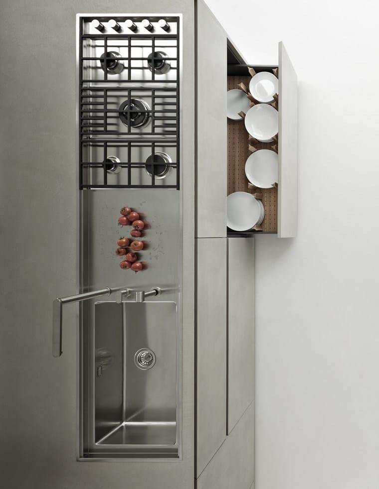 line k   cucina con isola by zampieri cucine design stefano cavazzana - Cucina On Line