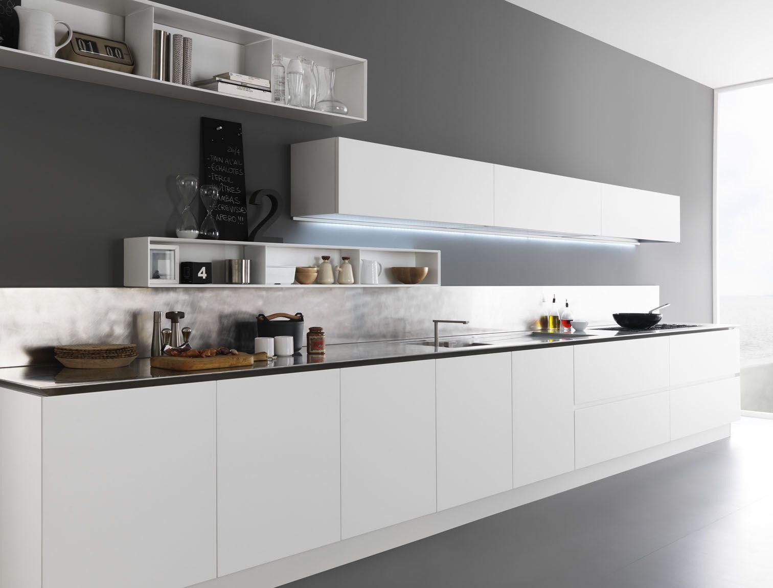 cucina laccata in legno y   composizione 02 by zampieri cucine ... - Composizione Cucine