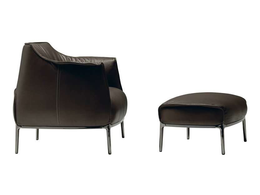 archibald fauteuil by poltrona frau design jean marie massaud. Black Bedroom Furniture Sets. Home Design Ideas
