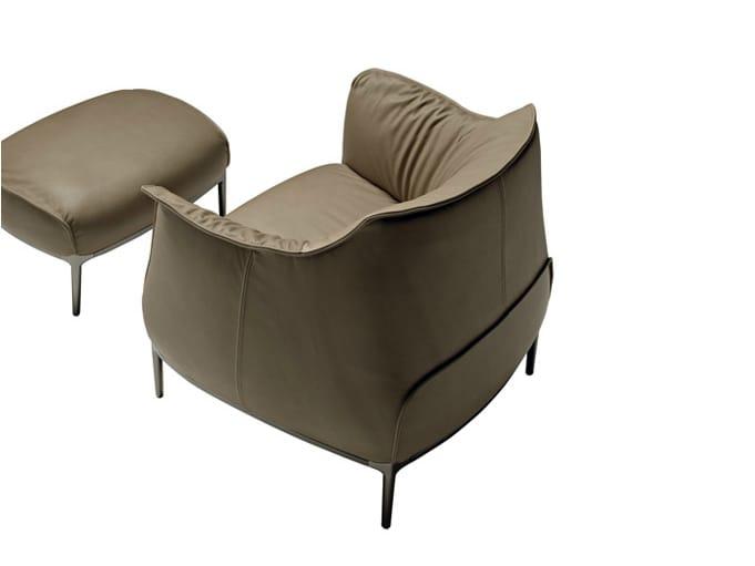 Archibald fauteuil by poltrona frau design jean marie massaud for Poltrone vitra