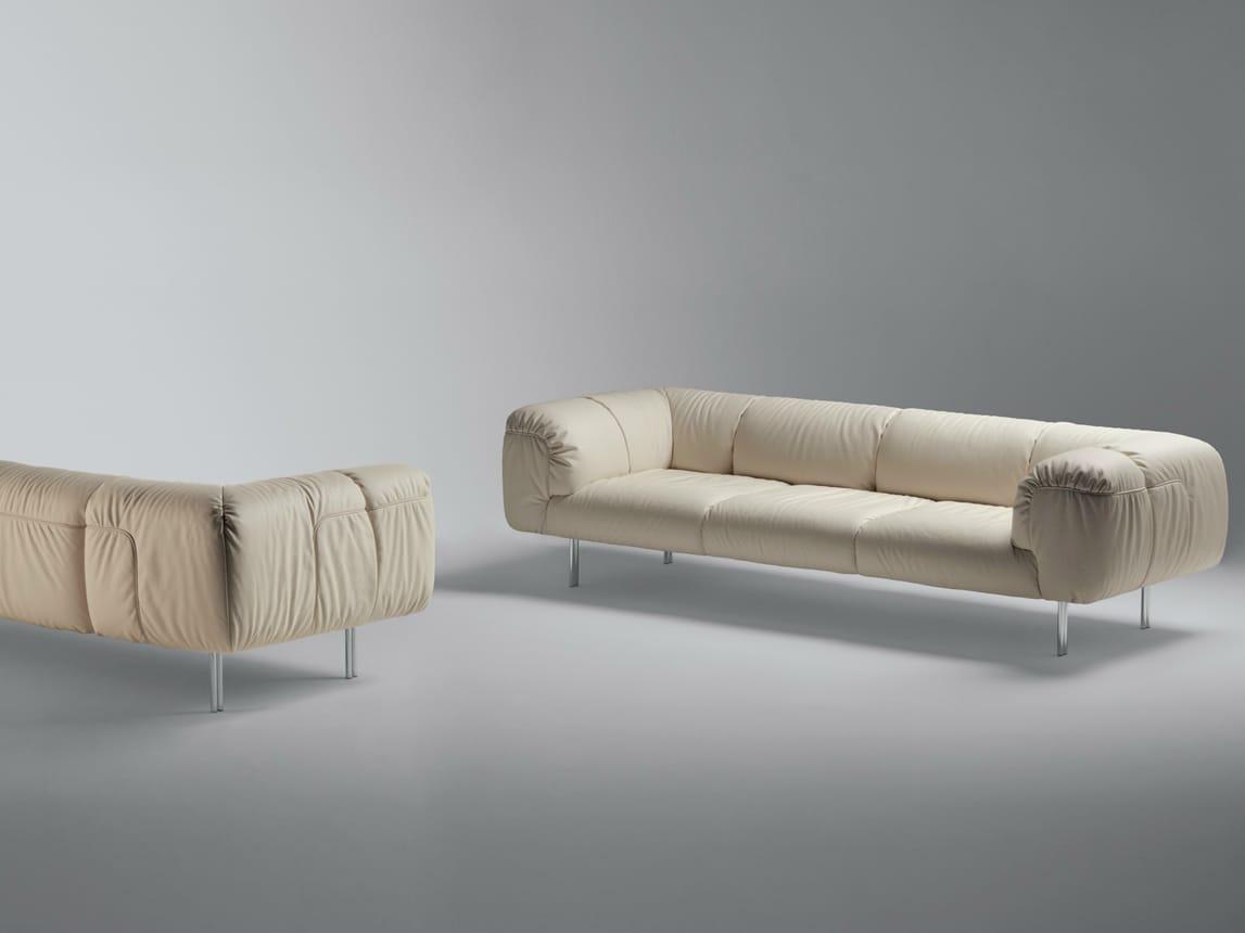 Bebop divano a 3 posti by poltrona frau design cini boeri for Collezione divani e divani