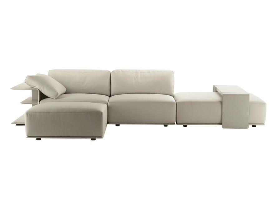 sectional modular sofa cassiopeapoltrona frau design lievore