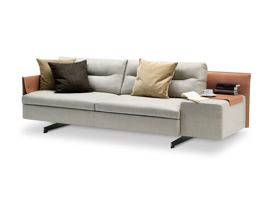 Grantorino canap composable by poltrona frau design jean for Canape composable