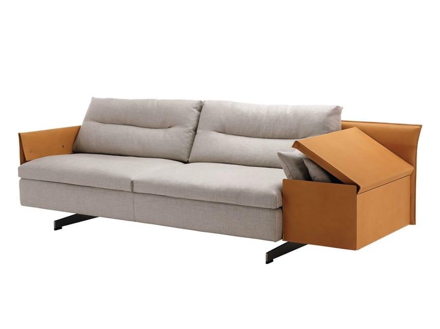grantorino canap composable by poltrona frau design jean. Black Bedroom Furniture Sets. Home Design Ideas