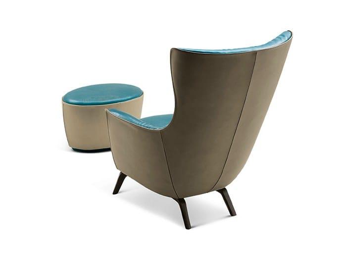 bergere armchair mamy blue by poltrona frau design roberto lazzeroni. Black Bedroom Furniture Sets. Home Design Ideas