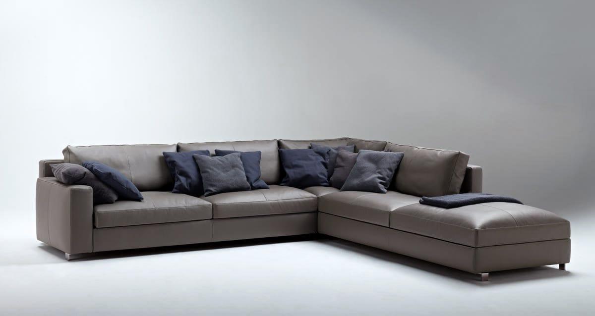 massimosistema divano componibile by poltrona frau. Black Bedroom Furniture Sets. Home Design Ideas