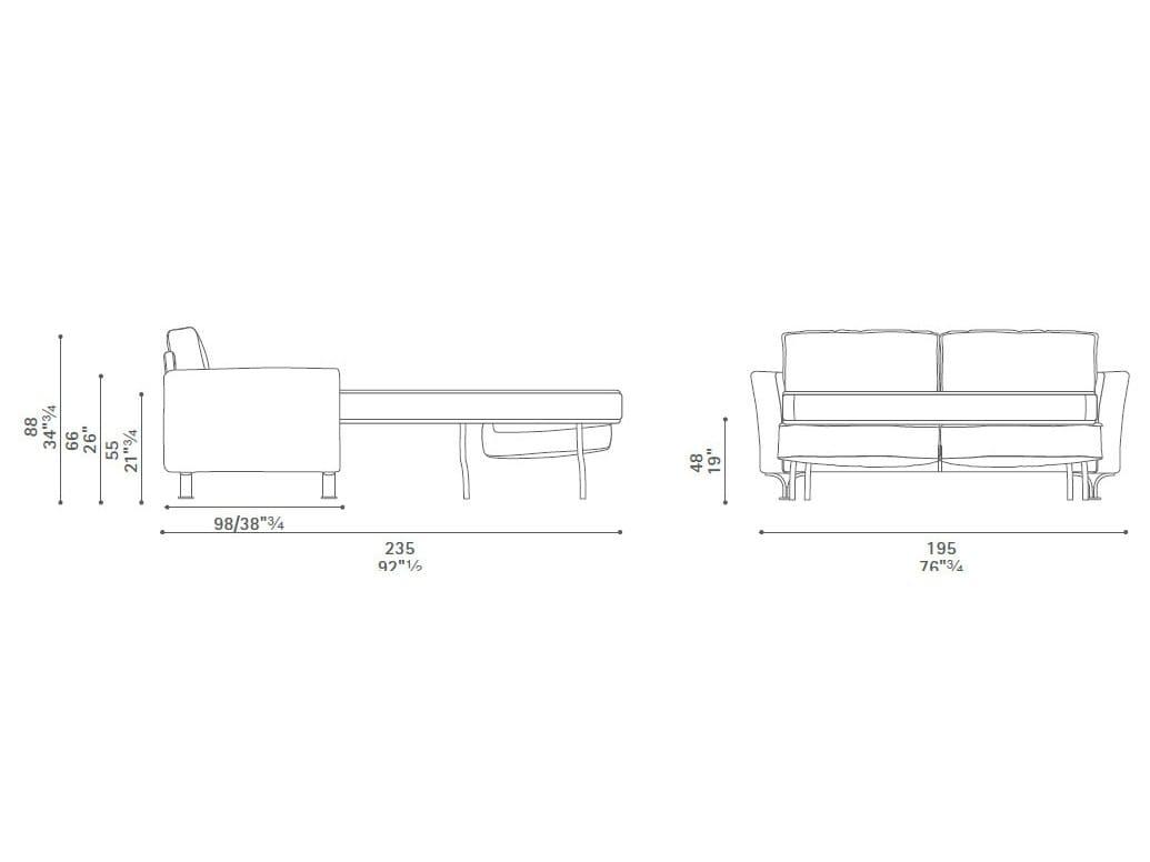 Letto in dwg la migliore scelta di casa e interior design - Letto singolo dwg ...