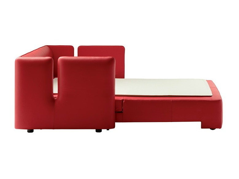 Sofa bed naidei by poltrona frau design gabriele buratti oscar buratti for Divano letto poltrona frau