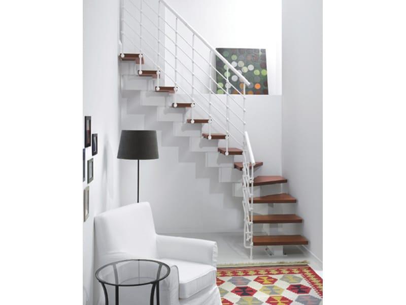 Escalier ouvert en kit magia 90 xtra by fontanot spa for Escalier ouvert salon