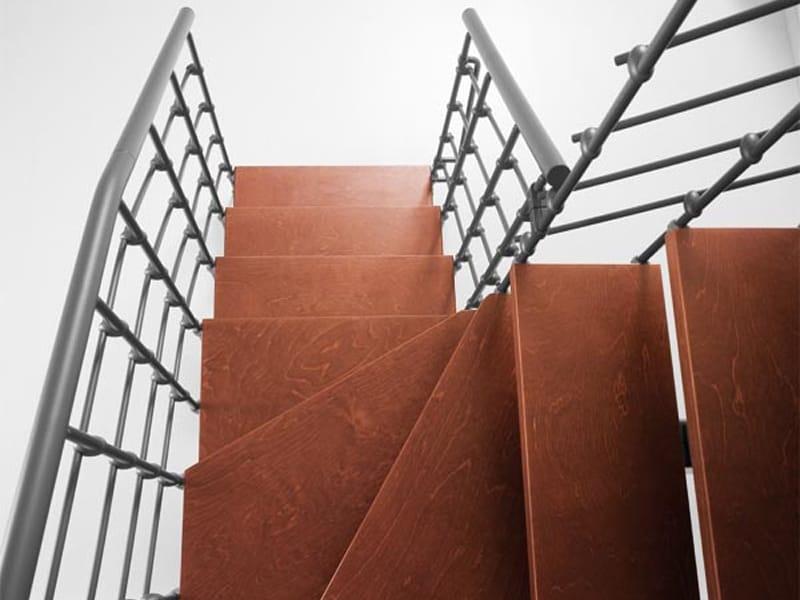 Escalera abierta en kit magia 90 xtra by fontanot albini for Escaleras fontanot