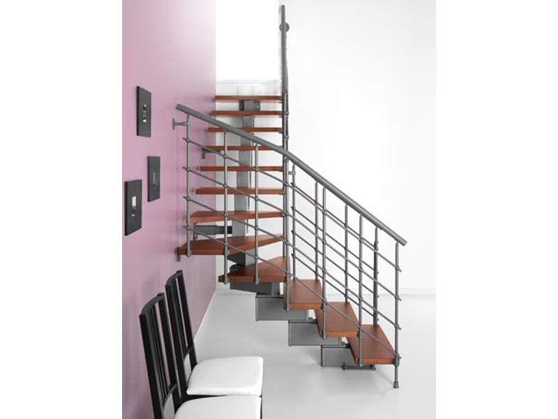 escalier ouvert en kit magia 90 xtra by fontanot spa. Black Bedroom Furniture Sets. Home Design Ideas