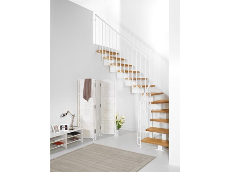Escalier ouvert en kit magia 90 by fontanot spa - Escalier ouvert salon ...
