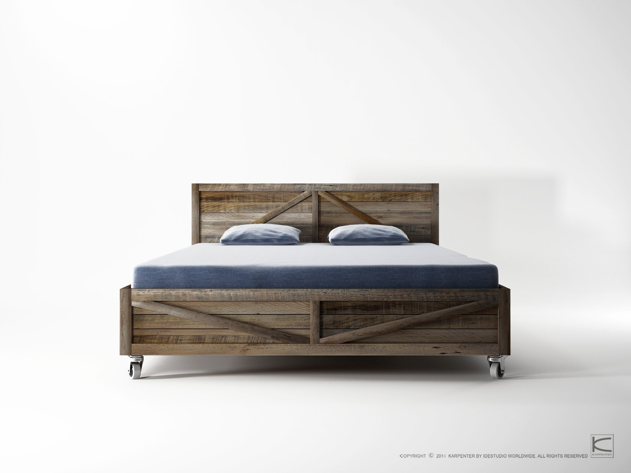 KRATE Letto queen size by KARPENTER