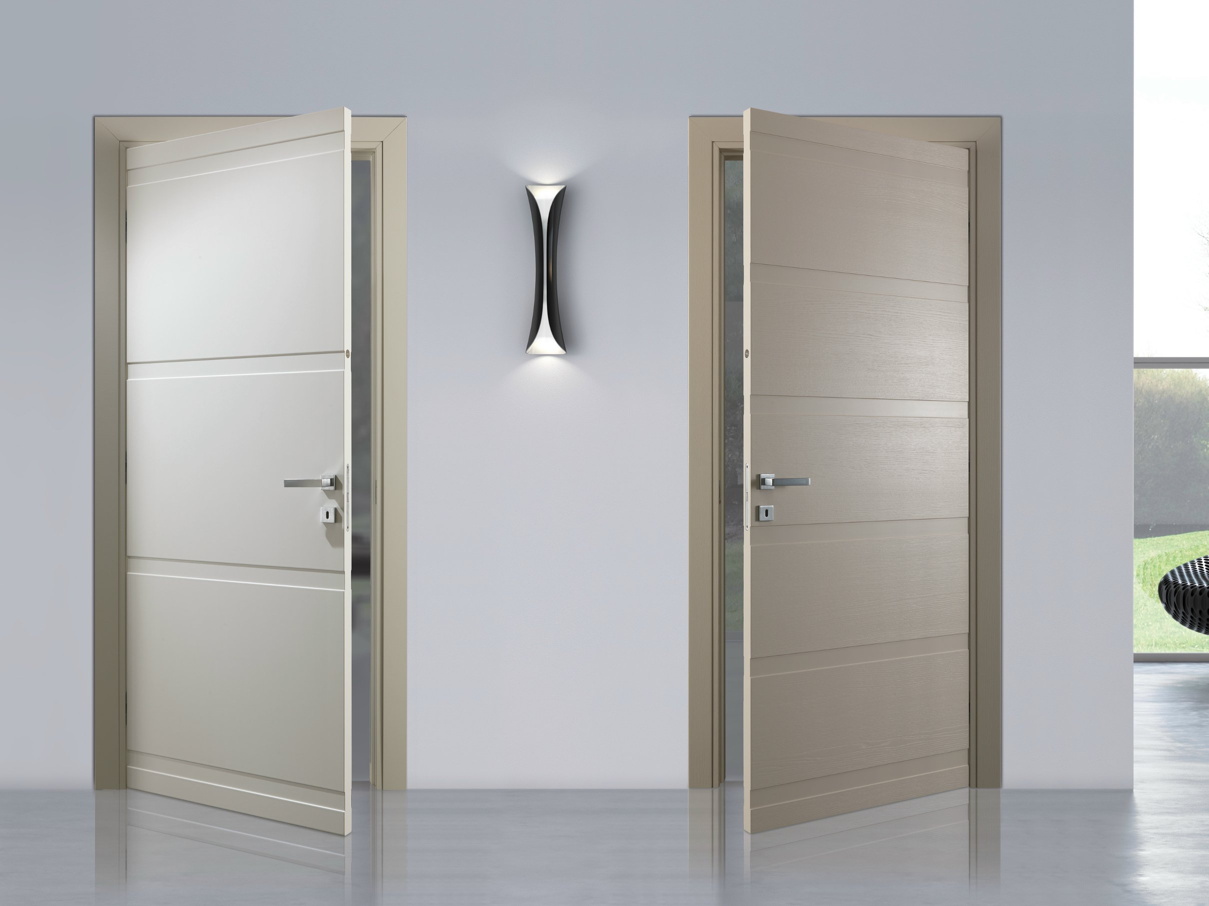 Hinged lacquered door FASHION by Bertolotto Porte design R ...