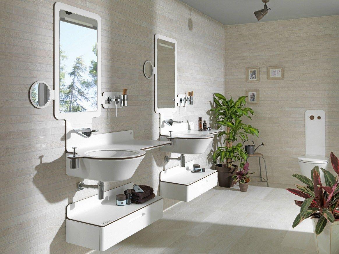 Mood mobile bagno basso by noken design design luis vidal for Mobile basso bagno