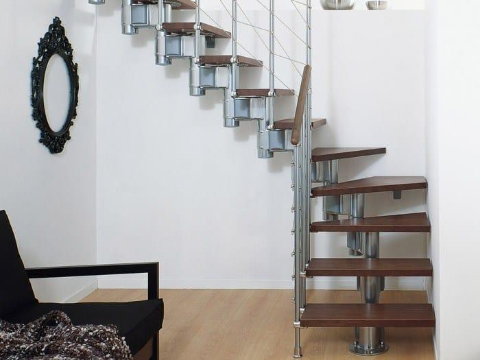 Escalier ouvert pixima long line by fontanot spa for Escalier ouvert salon