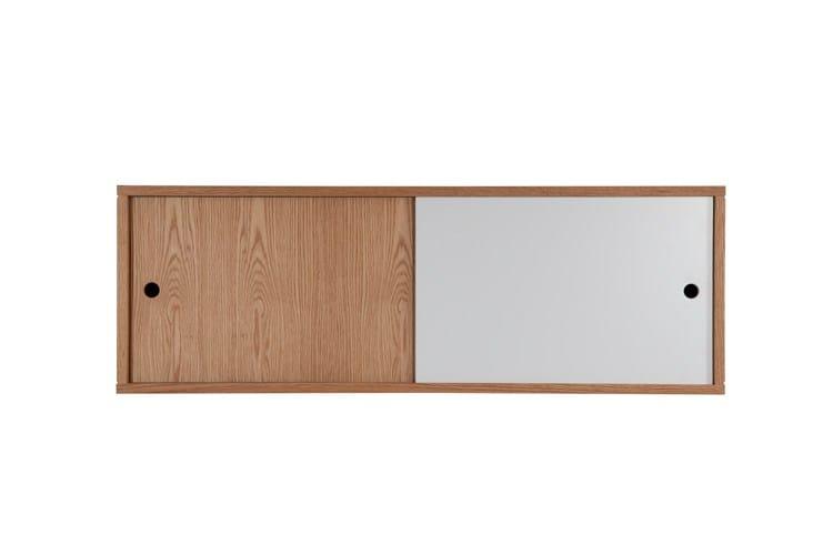 lackierter h ngeschrank mit schiebet ren bala storage by. Black Bedroom Furniture Sets. Home Design Ideas