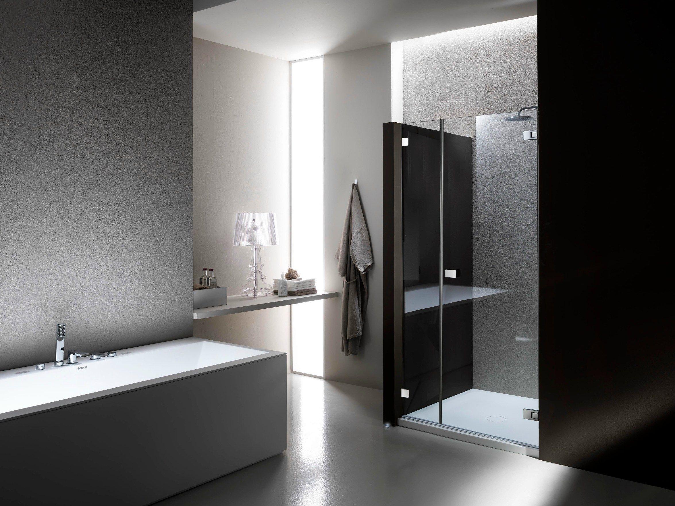 Vetro x doccia boiserie in ceramica per bagno - Doccia senza porta ...