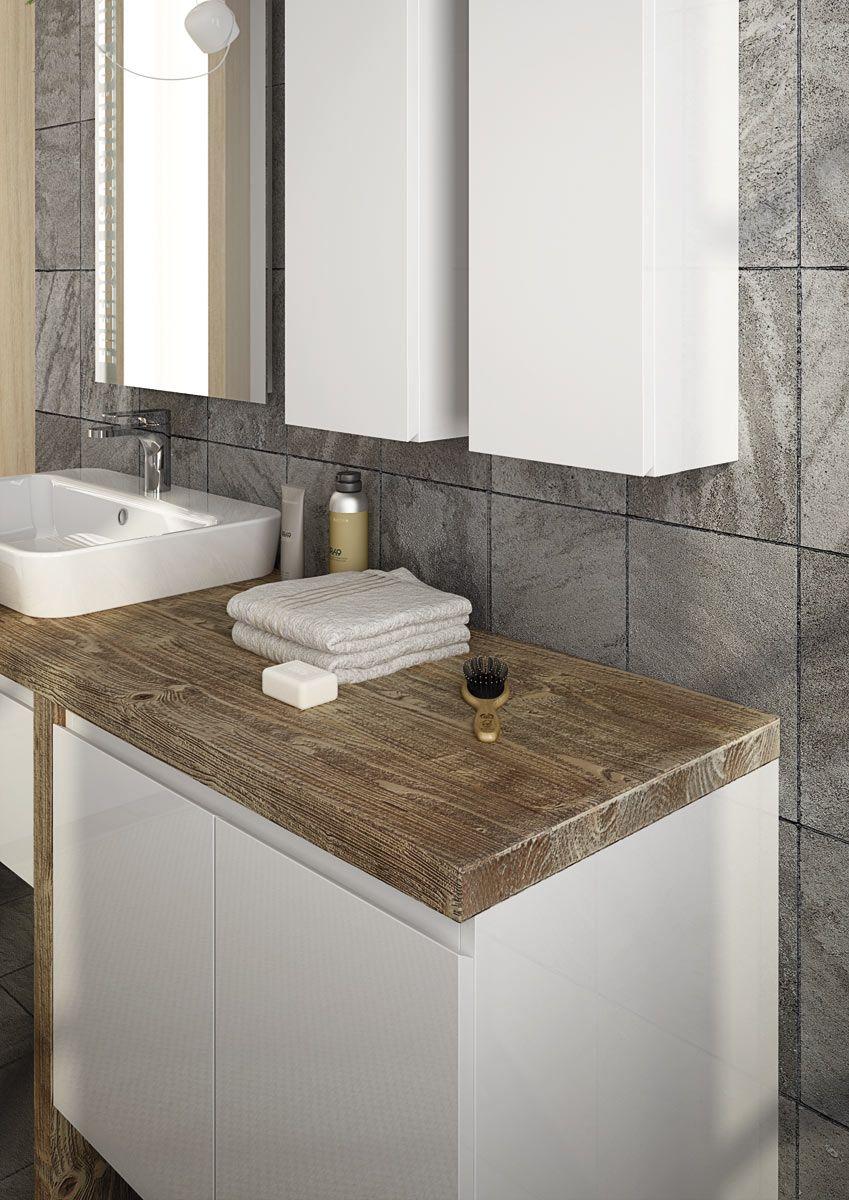 Mobile lavabo componibile singolo sospeso freedom 12 by legnobagno - Legnobagno prezzi ...