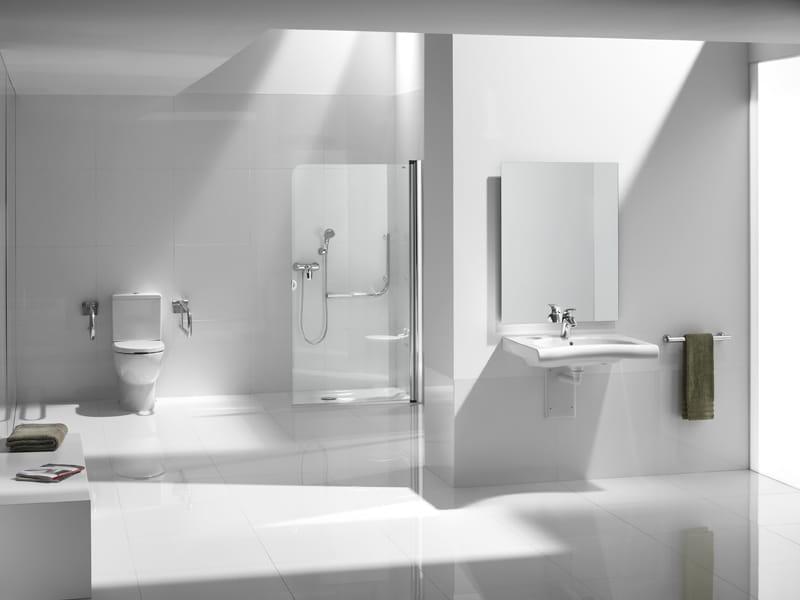 Baño Minusvalidos Cad:Lavabo para discapacitados NEW MERIDIAN