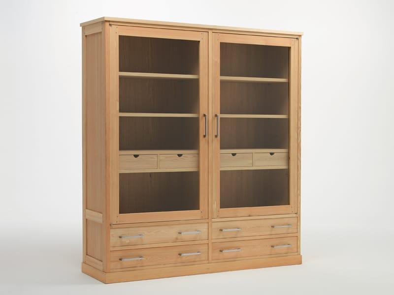vitrine aus holz colonia by riva 1920 design maurizio riva davide riva. Black Bedroom Furniture Sets. Home Design Ideas