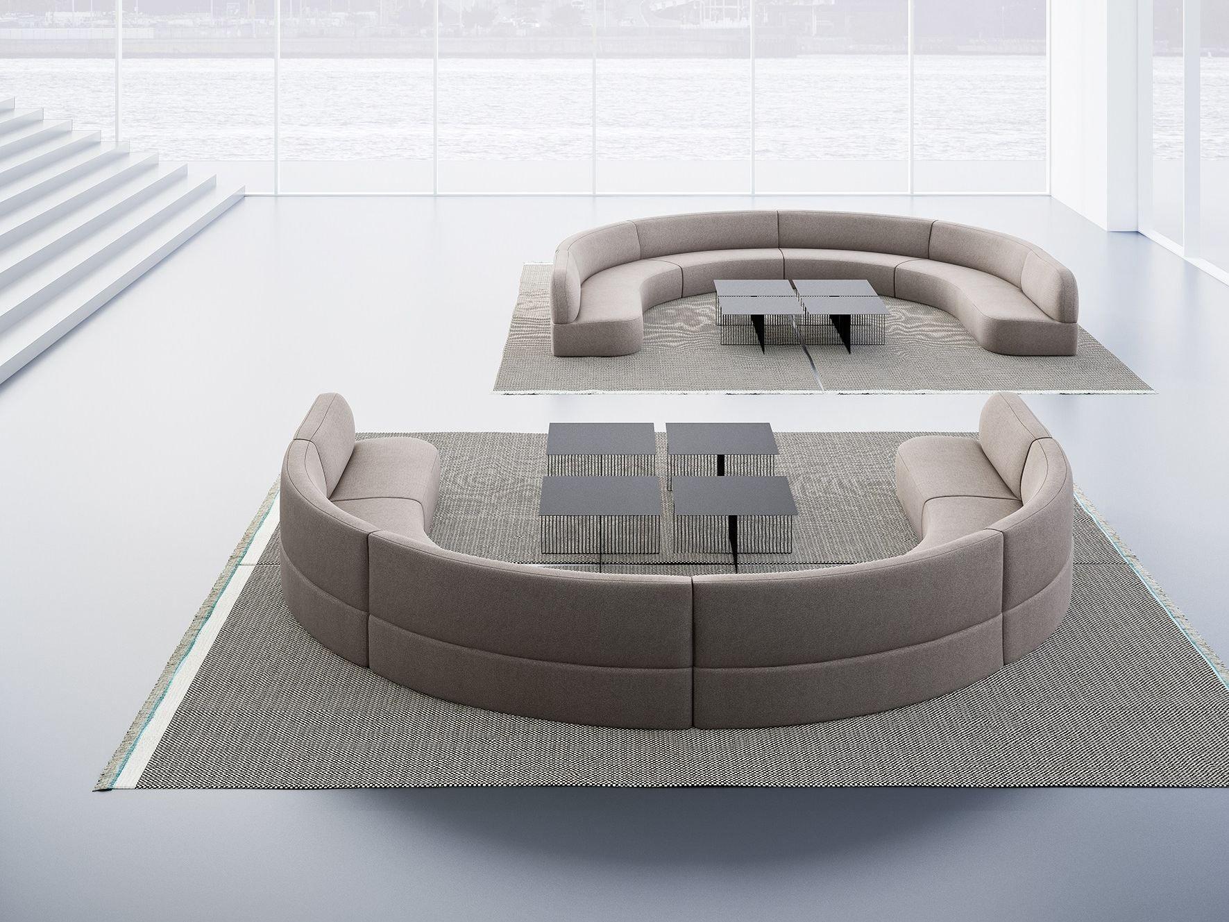 guest round sofa by la cividina design antonio rodriguez. Black Bedroom Furniture Sets. Home Design Ideas