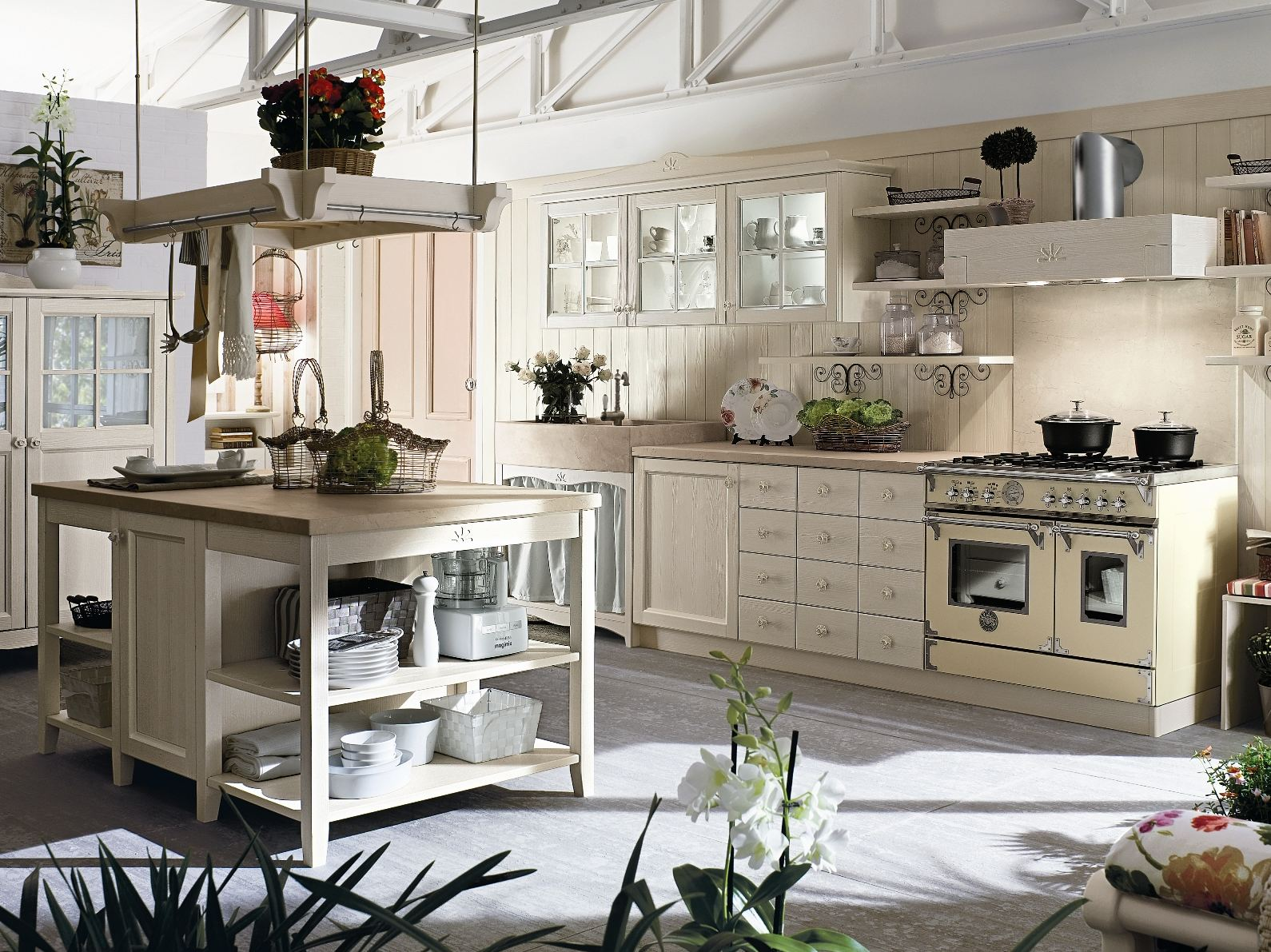 Stunning Cucine Country Economiche Images - Ideas & Design 2017 ...