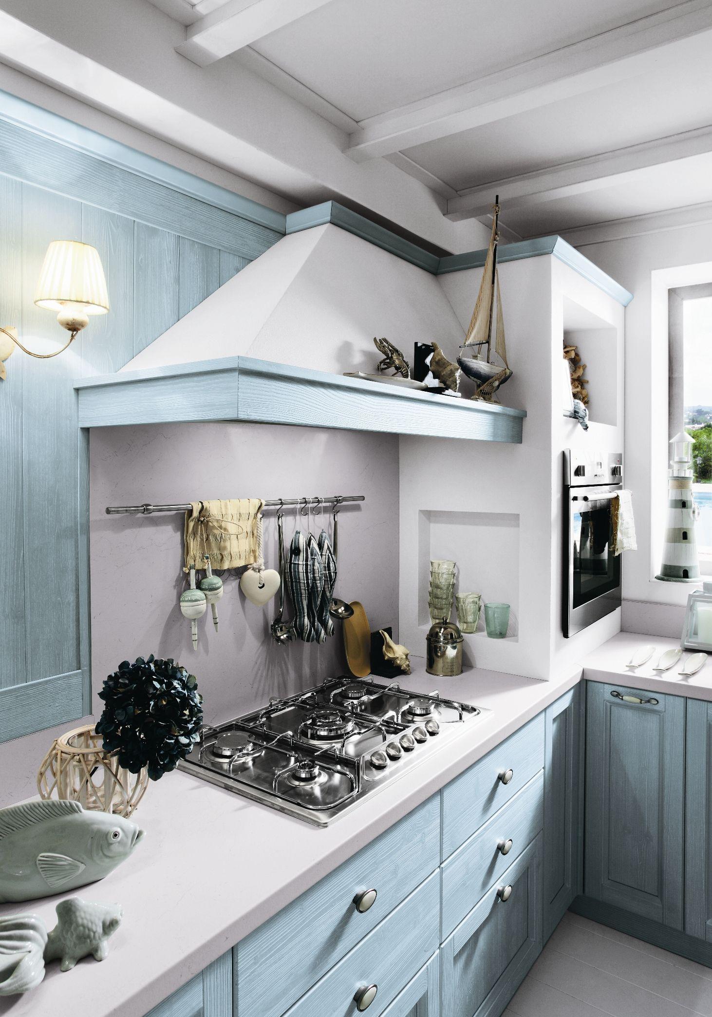 Country isola cucina decorazione - Callesella cucine prezzi ...
