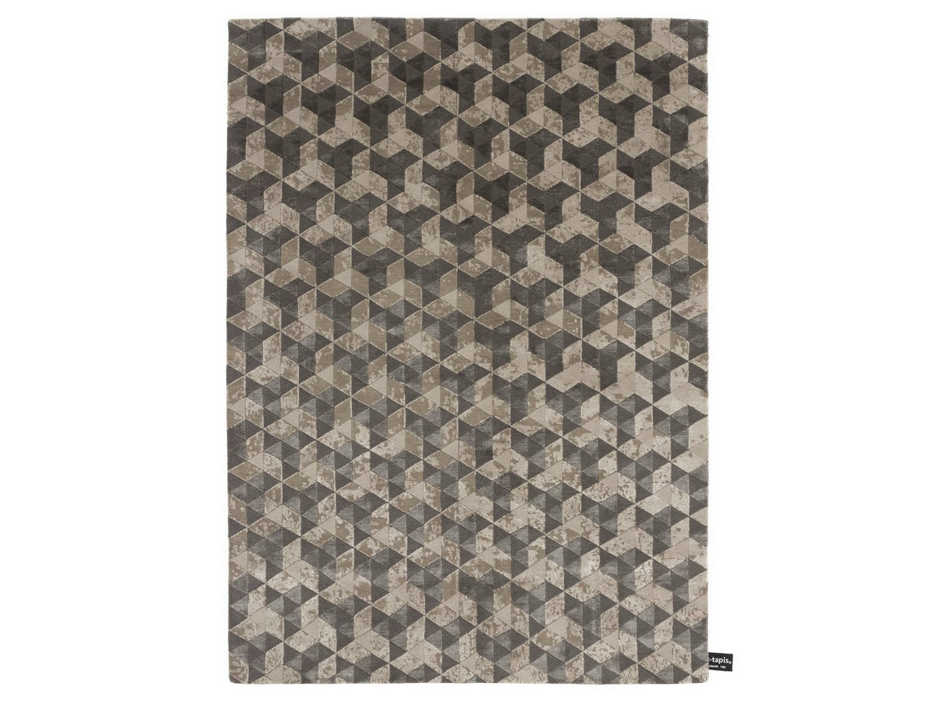 rectangular rug with geometric shapes fly cc tapis - Tapis Color Fly