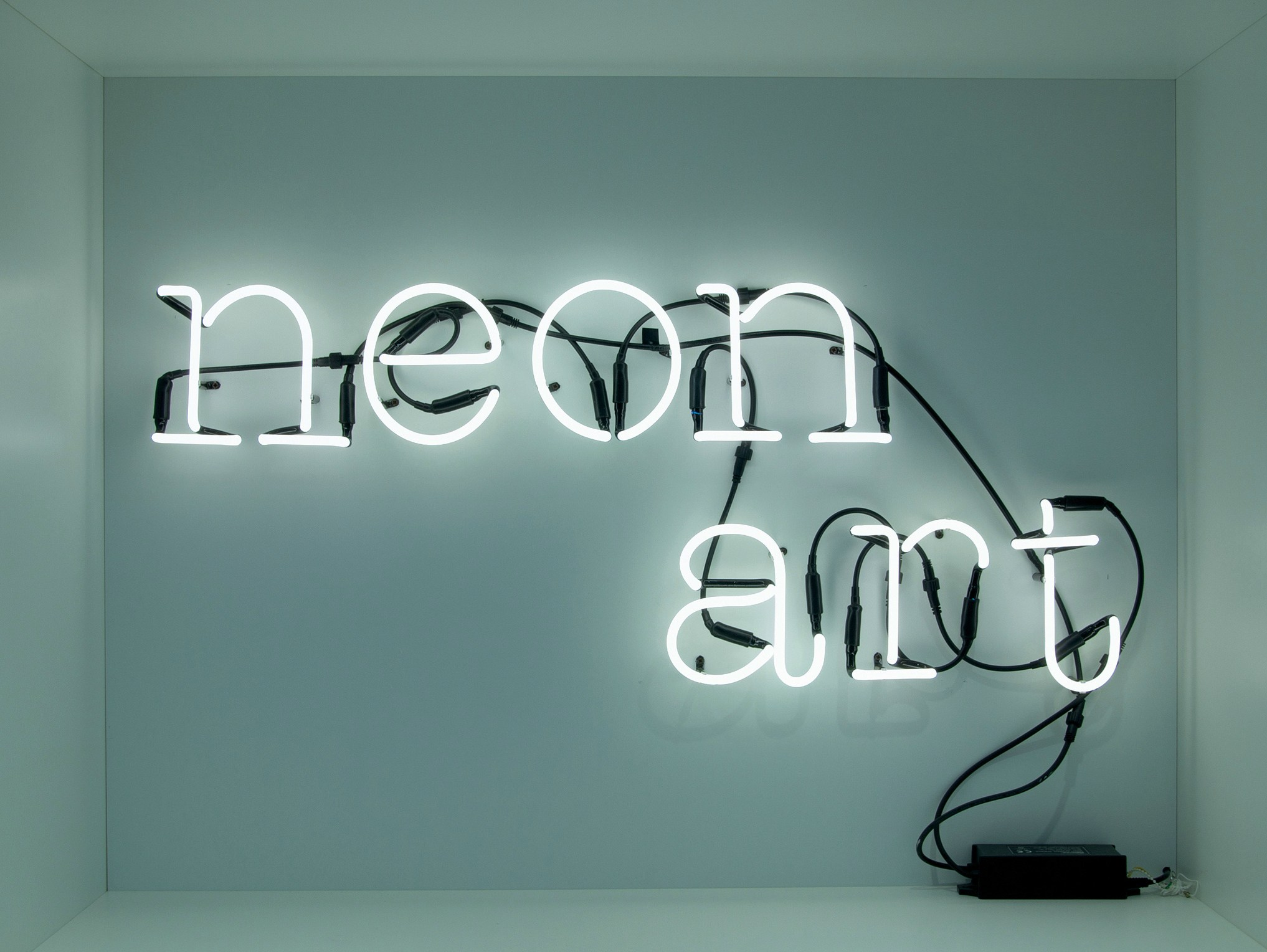 Neon Wall Art wall mounted light letter neon artseletti