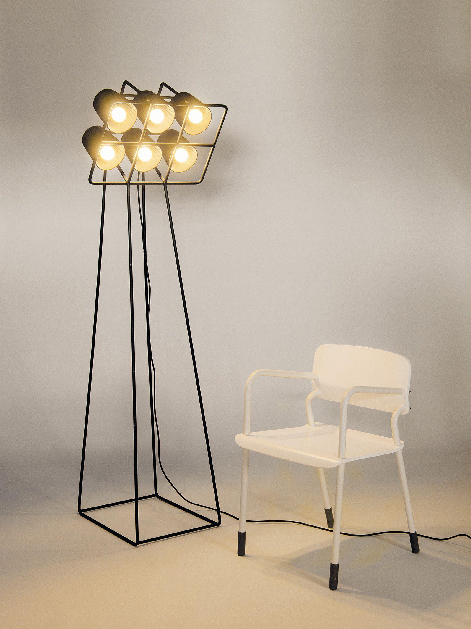 multilamp floor lamp by seletti design emanuele magini. Black Bedroom Furniture Sets. Home Design Ideas