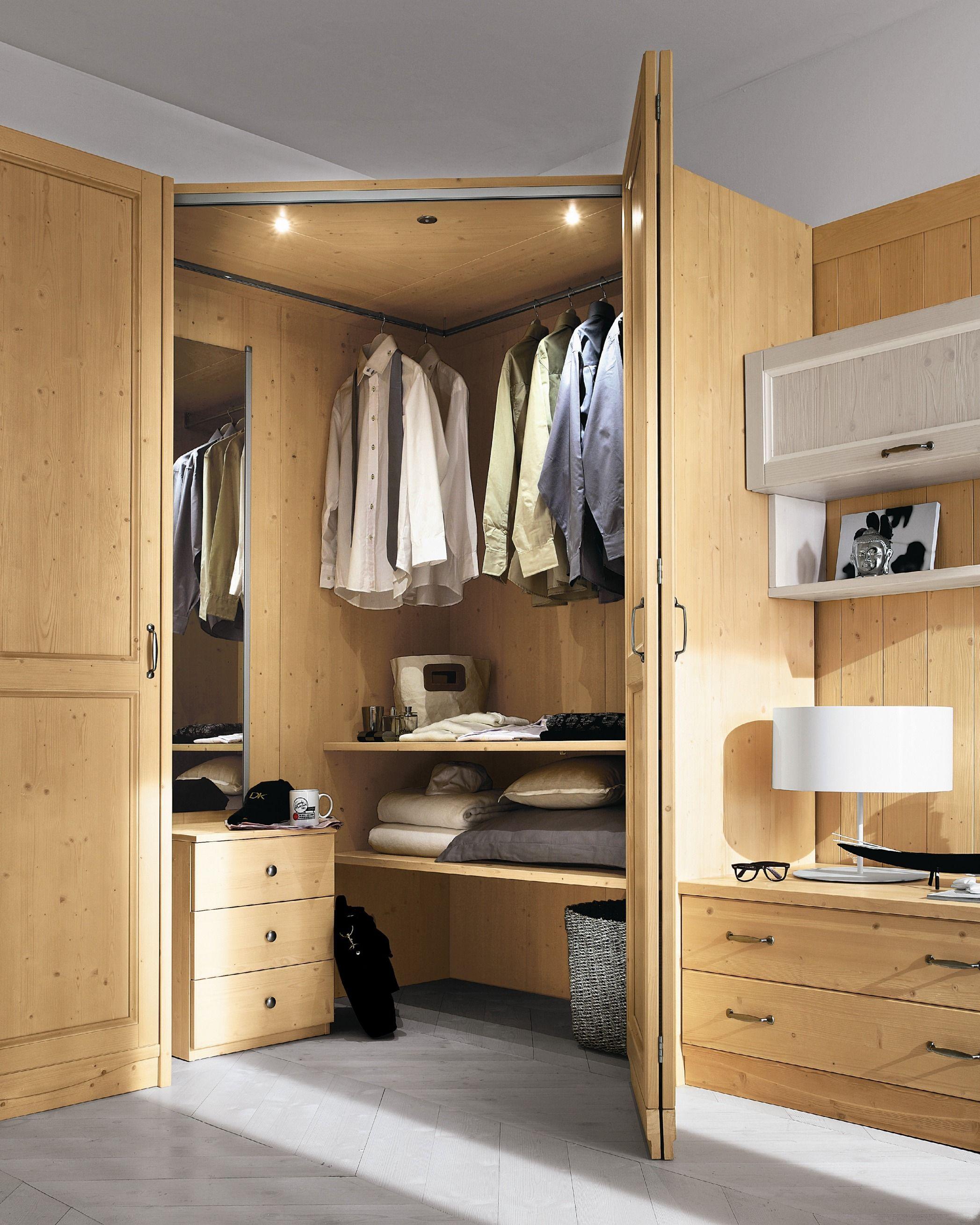 Camera da letto in legno every day night composizione 10 by callesella arredamenti s r l - Camera da letto legno ...