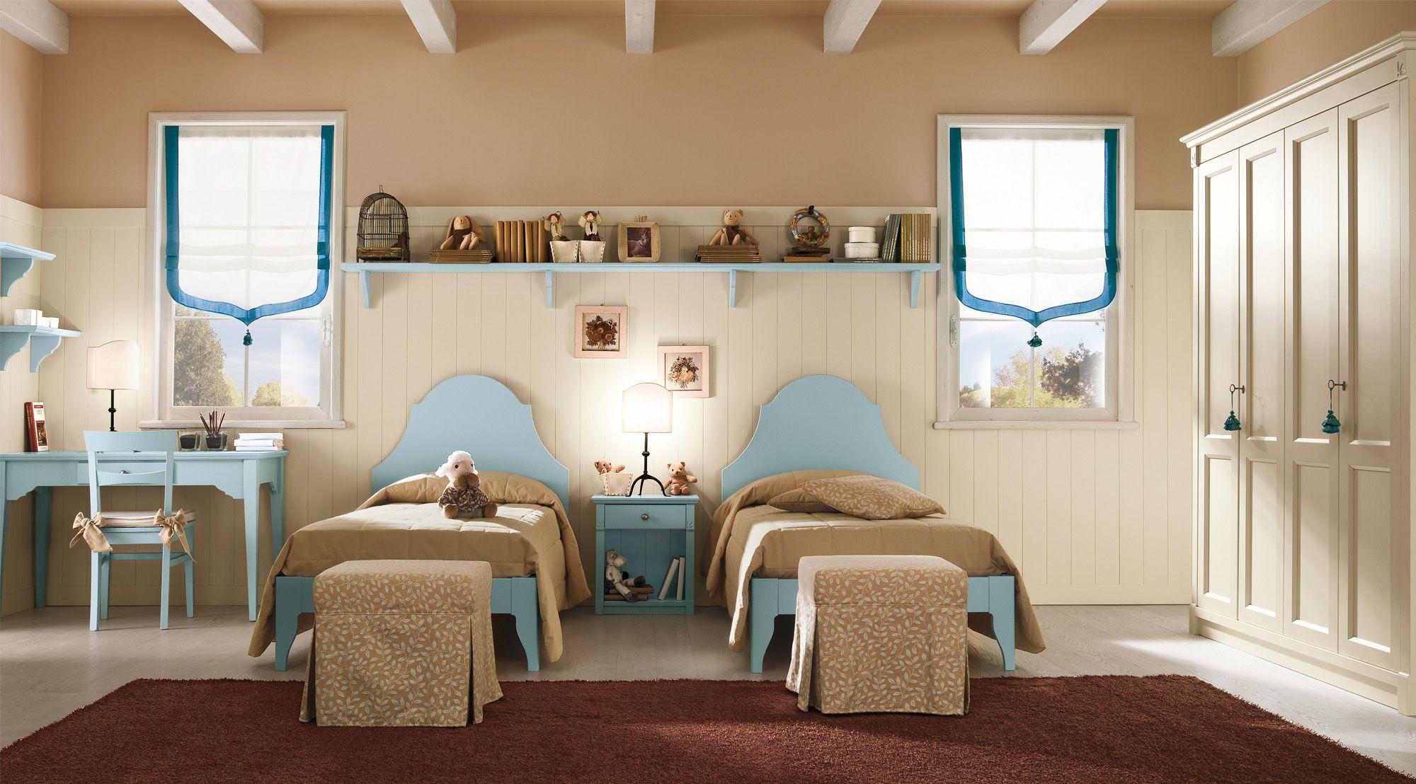 Pareti divisorie per camere da letto - Camerette classiche per bambini ...