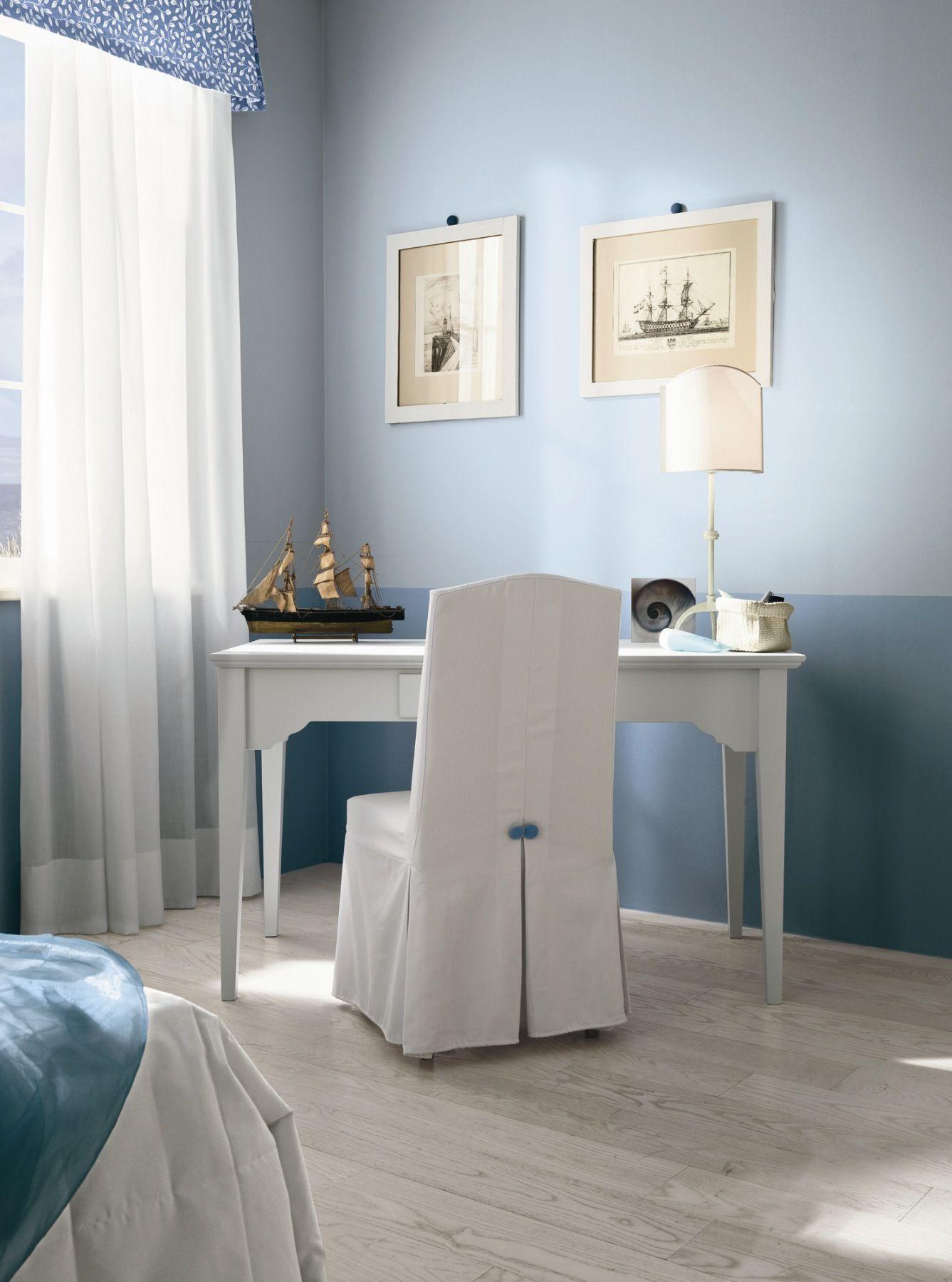Camera da letto in legno romantic composizione 13 by for Df arredamenti
