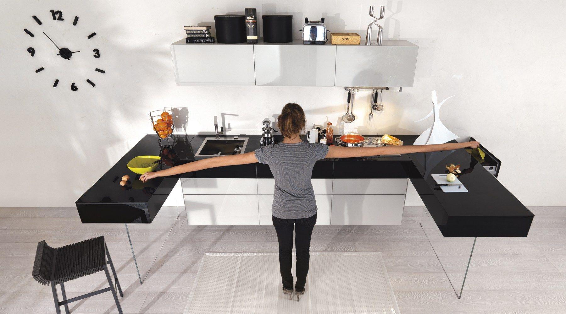 36e8 cuisine avec p ninsule by lago design daniele lago. Black Bedroom Furniture Sets. Home Design Ideas