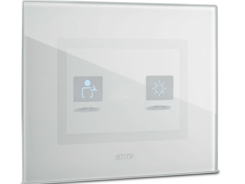 Interruttore per comando luce con simboli domus touch by ave for Interruttori touch