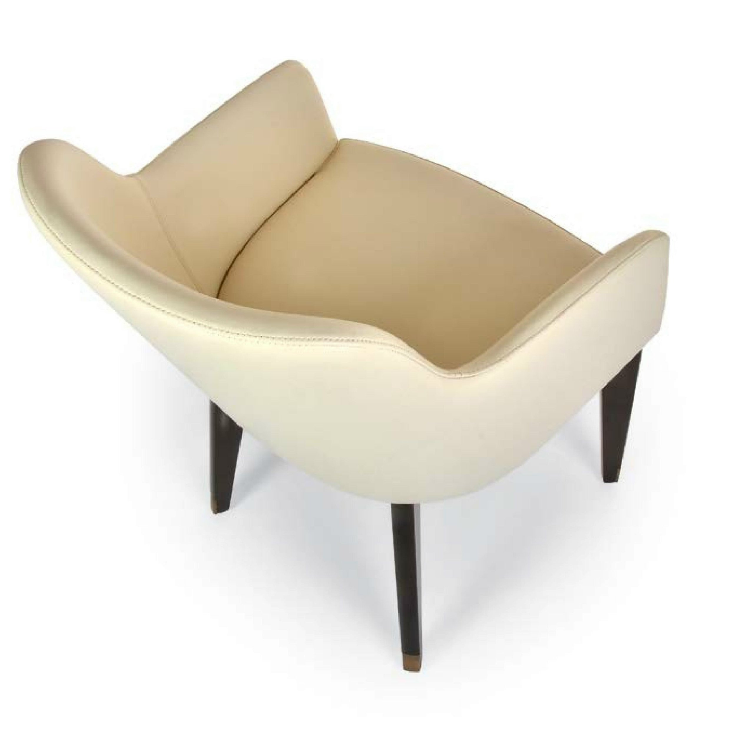 marl ne wood chaise en cuir by riccardo rivoli design. Black Bedroom Furniture Sets. Home Design Ideas