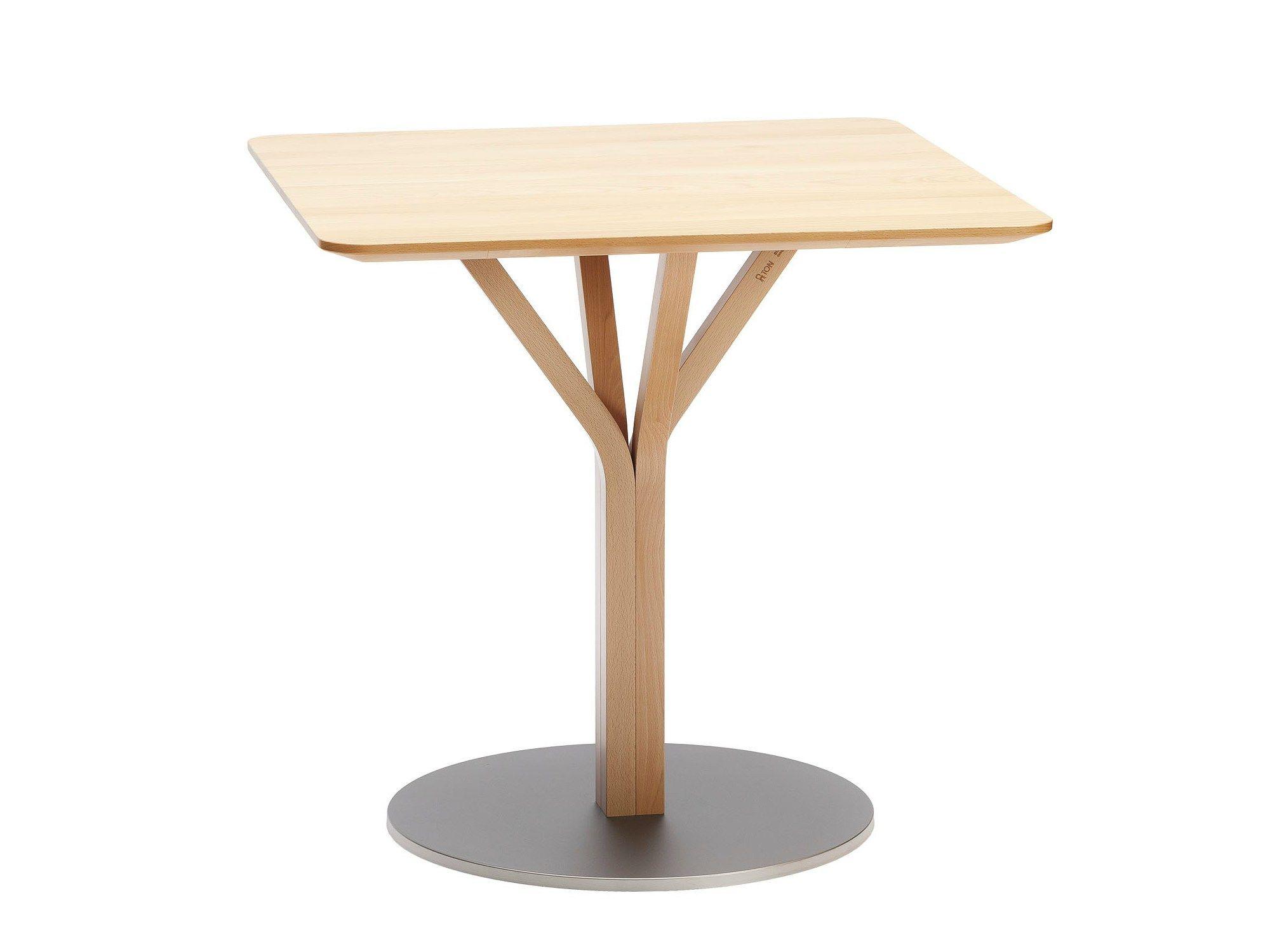 bloom gastronomie tisch by ton. Black Bedroom Furniture Sets. Home Design Ideas