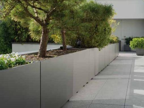 Fioriera bassa in cemento customline fioriera - Jardineras decorativas ...