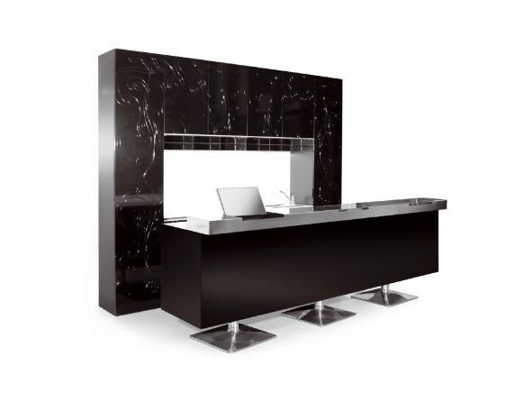 mobilier pour magasins color bar ligne black design by porsche by gamma bross design. Black Bedroom Furniture Sets. Home Design Ideas