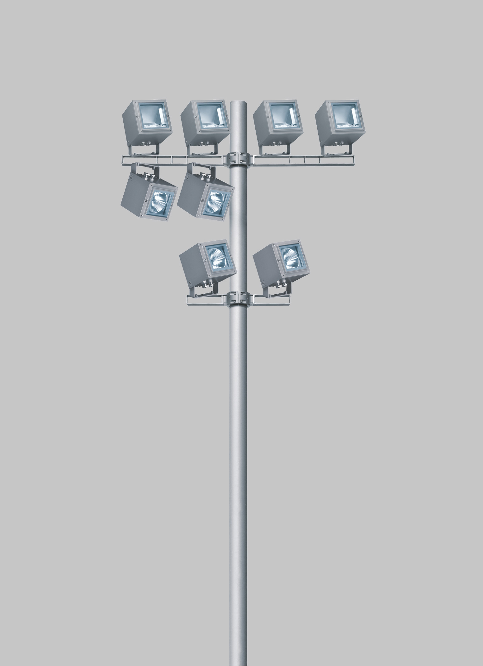 Proiettore da esterno a led orientabile multi ipro by for Iguzzini esterno