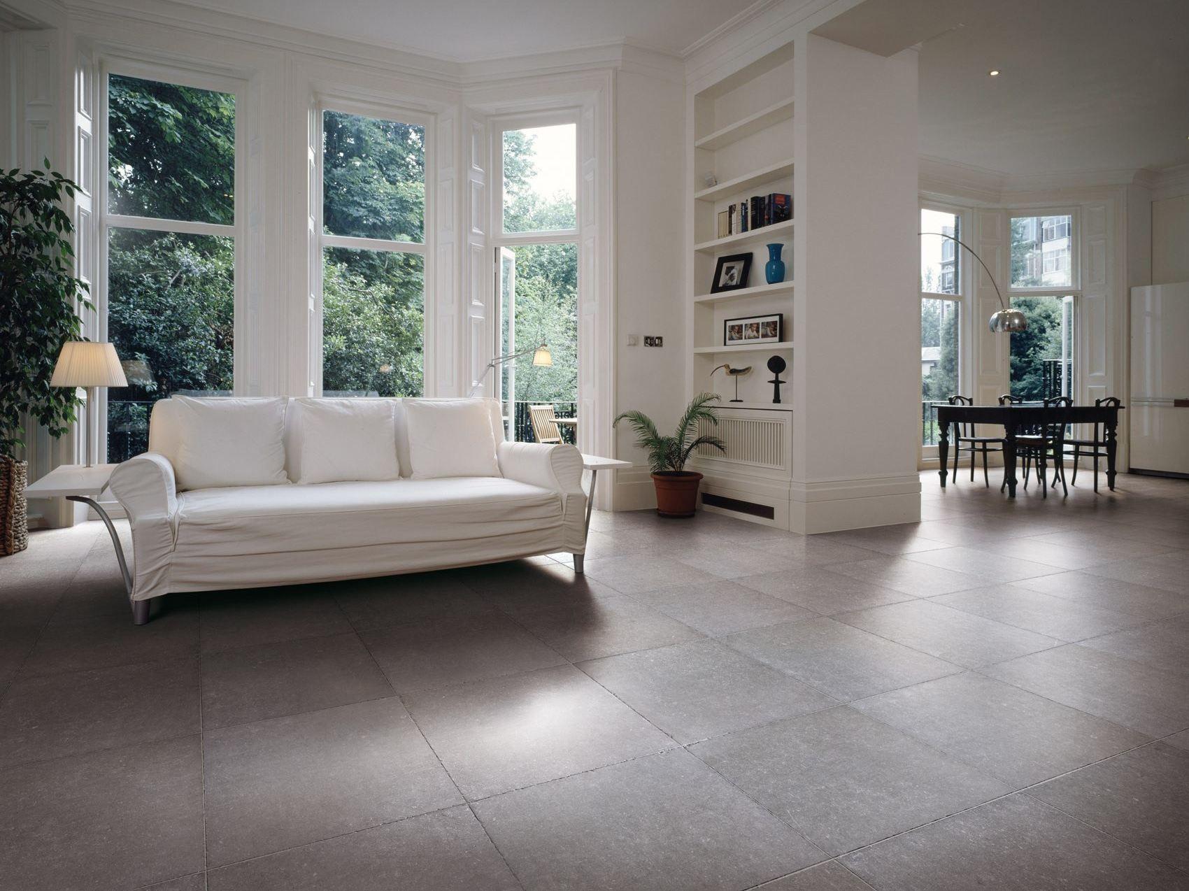 Pavimento in gres porcellanato effetto pietra BLUETECH by ...