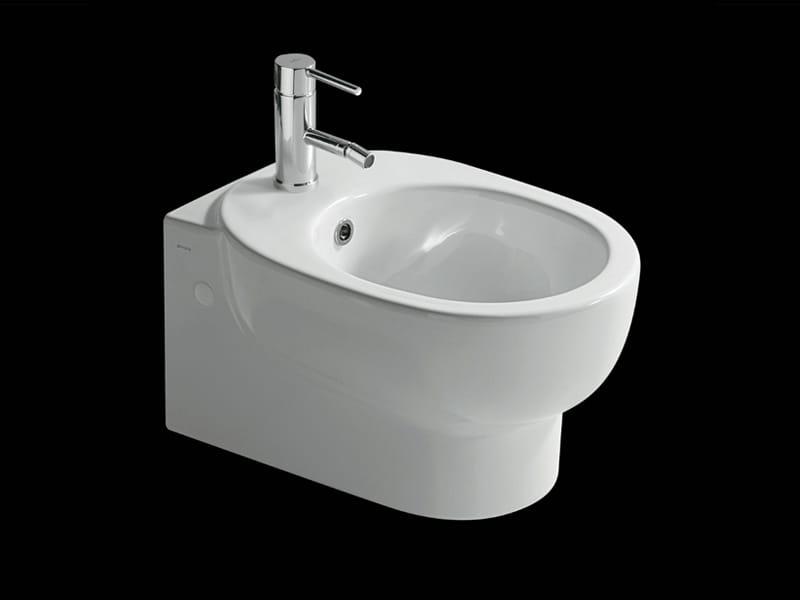 M2 50 bidet sospeso by galassia design romano adolini for Architec bidet sospeso